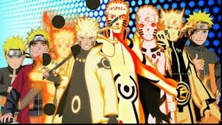 Naruto:Top 20 Strongest MODES! (Six Paths Sage Mode,Tenseigan Mode,Bijuu Mode,Kurama Mode)
