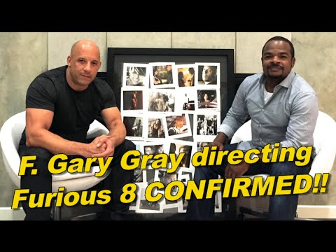 F. Gary Gray directing Furious 8 for 2017...