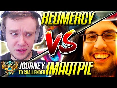 REDMERCY vs IMAQTPIE!!!! IT'S FINALLY HAPPENING! - Journey To Challenger | League of Legends