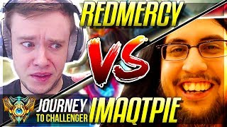 REDMERCY vs IMAQTPIE!!!! IT'S FINALLY HAPPENING! - Journey To Challenger   League of Legends
