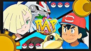 ASH VS GLADIO RAP | FINAL DE LA LIGA DE ALOLA | Pokémon Sol y Luna | CASG