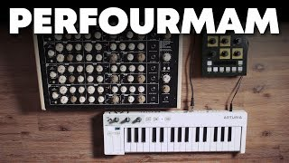 Vermona Perfourmer + OTO BAM Synth Demo