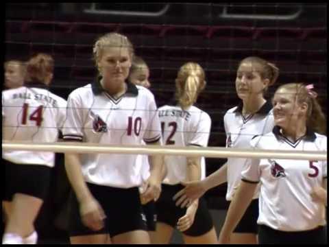 Ball State University Cardinals vs. Marshall University Thundering Herd women's volleyball, 1998