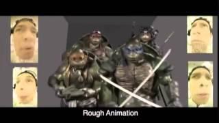 Teenage Mutant Ninja Turtles   The Elevator Behind The Scene