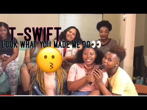 Download Youtube: Taylor Swift Look What You Made Me Do Official Video Reaction|Reacting With The Coops