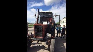 МОТОР 2017 (г.Кунгур.)Демо-Трактор от Компаний Ural Sound Команда Мазунино Team