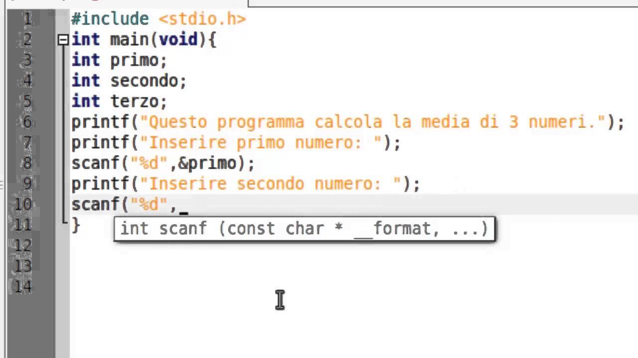 Creare programma che fa media di numeri in c youtube - Programma per calcolo posa piastrelle ...
