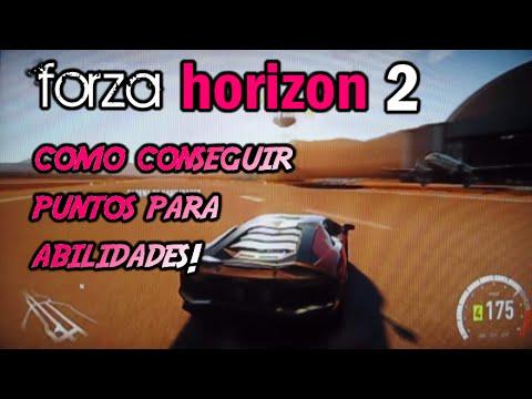 Forza Horizon 2 como ganar puntos de habilidades rapido y facil