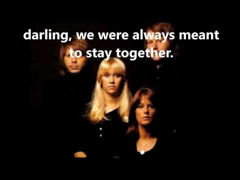 As Good As New ABBA  (with lyrics)