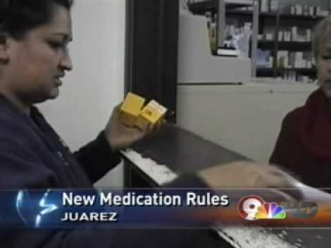 NEW RULES FOR MEDICATION IN MEXICO