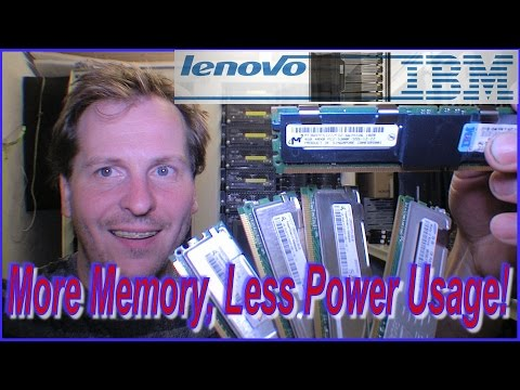 IBM Server 33.3% more RAM 13% less power use - 227