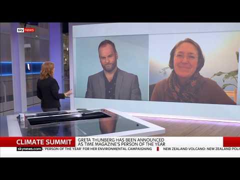 Sky News | Sarah Lunnon | 11 December 2019 | Extinction Rebellion