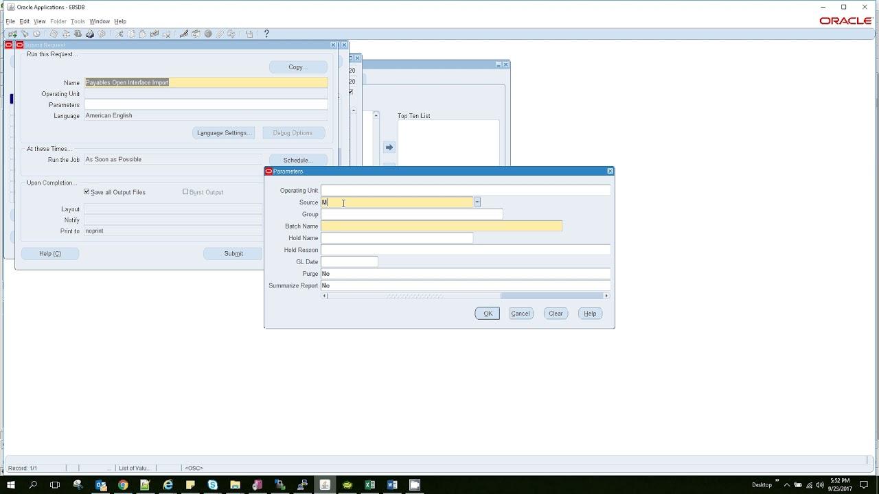 Oracle APPS AP Invoice Import AP SLA Technical details
