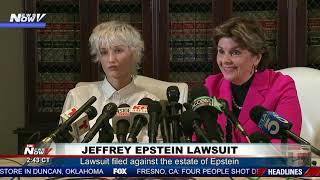 EPSTEIN LAWSUIT: Woman Sues Estate of Jeffrey Epstein