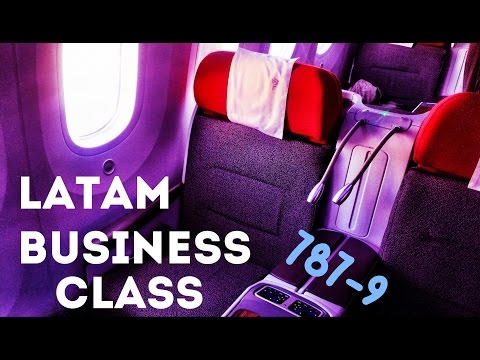 LATAM 787-9 Business Class Flight Experience
