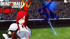 Dragon Ball Xenoverse Ranked Matches - Erza's Requip FTW!