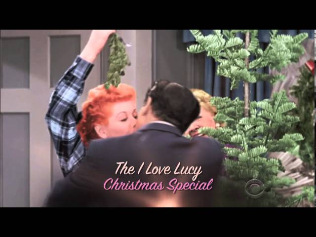 dick van dyke show i love lucy get colorized for christmas - I Love Lucy Christmas Special