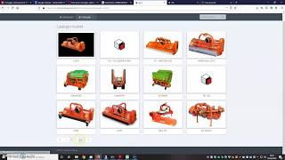 Tutorial: Spare parts catalogue download