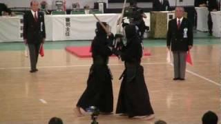 59th All Japan Kendo Championship (2011 3rd Nov. NIPPON BUDOKAN) SY...