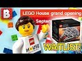 LEGO House Grand Opening + UCS Falcon Waitlist! LEGO News