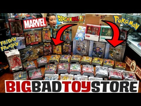 OUR MOST EXPENSIVE TOY HAUL! OPENING HUGE MYSTERY BOXES FROM BIGBADTOYSTORE! POKEMON & MARVEL! FF#85