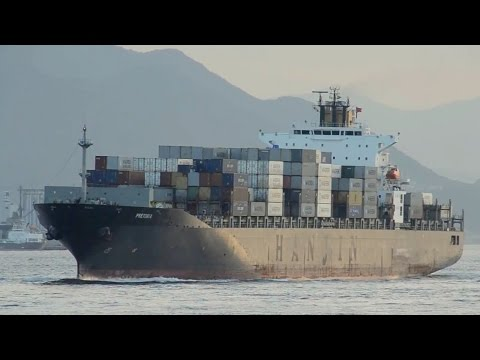 PRETORIA - Laeisz Reederei container ship