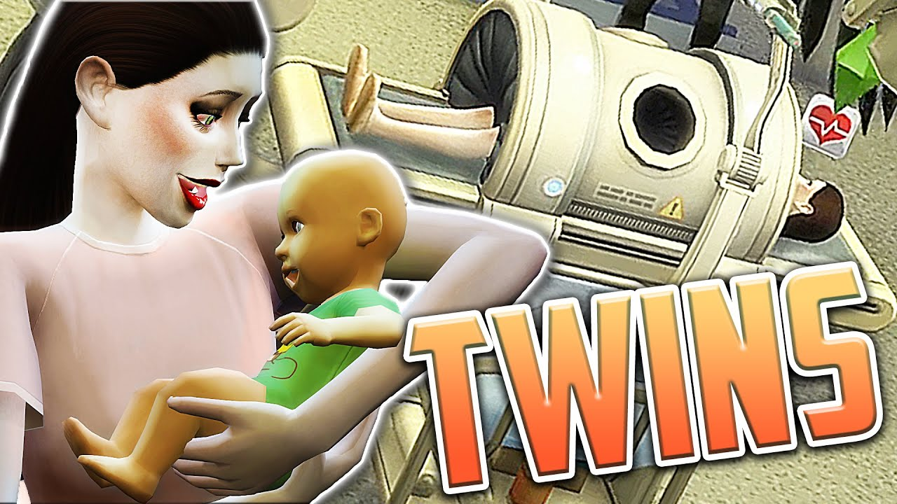 TWIN BIRTH DELIVERY! - Let's Play: The Sims 4 Maleficent (Part 7) - YouTube