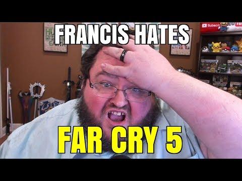 FRANCIS HATES FAR CRY 5! FRANCIS RAGE!!!