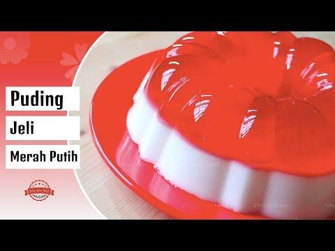 Puding Jeli Merah Putih | Suka Suka Amel