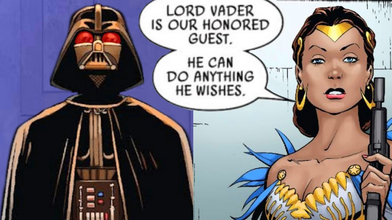 Darth Vader Visits a Funeral for Rebel Leaders(Canon) - Star Wars Comics Explained