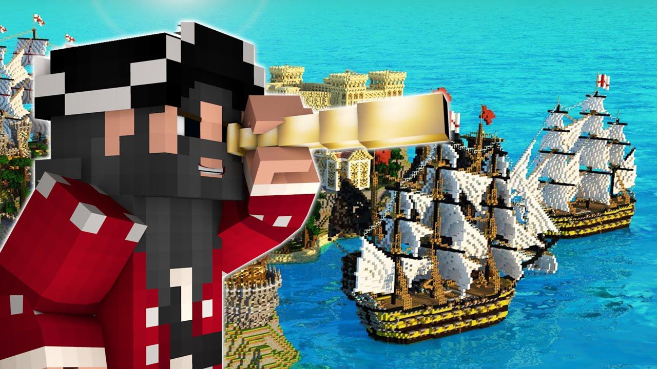 майнкрафт пираты #6