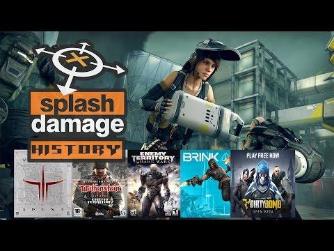 Splash Damage History (2001-2016)