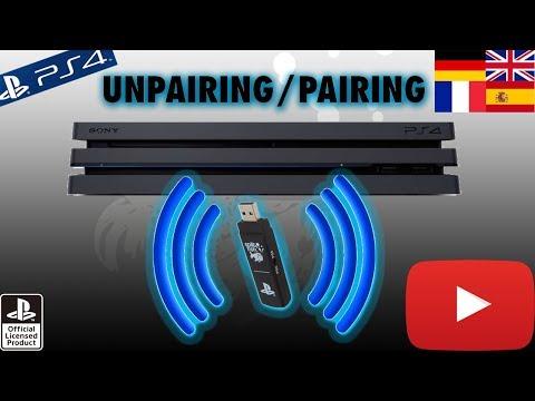 SplitFishGameware FragFX Shark PS4/PS3 - Unpairing/Pairing