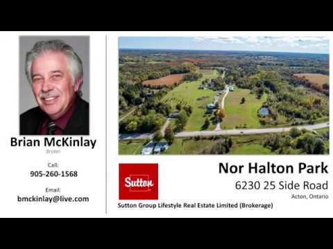 Seasonal Campground And Trailer Park For Sale 6230 25 Side Rd Acton Ontario Youtube