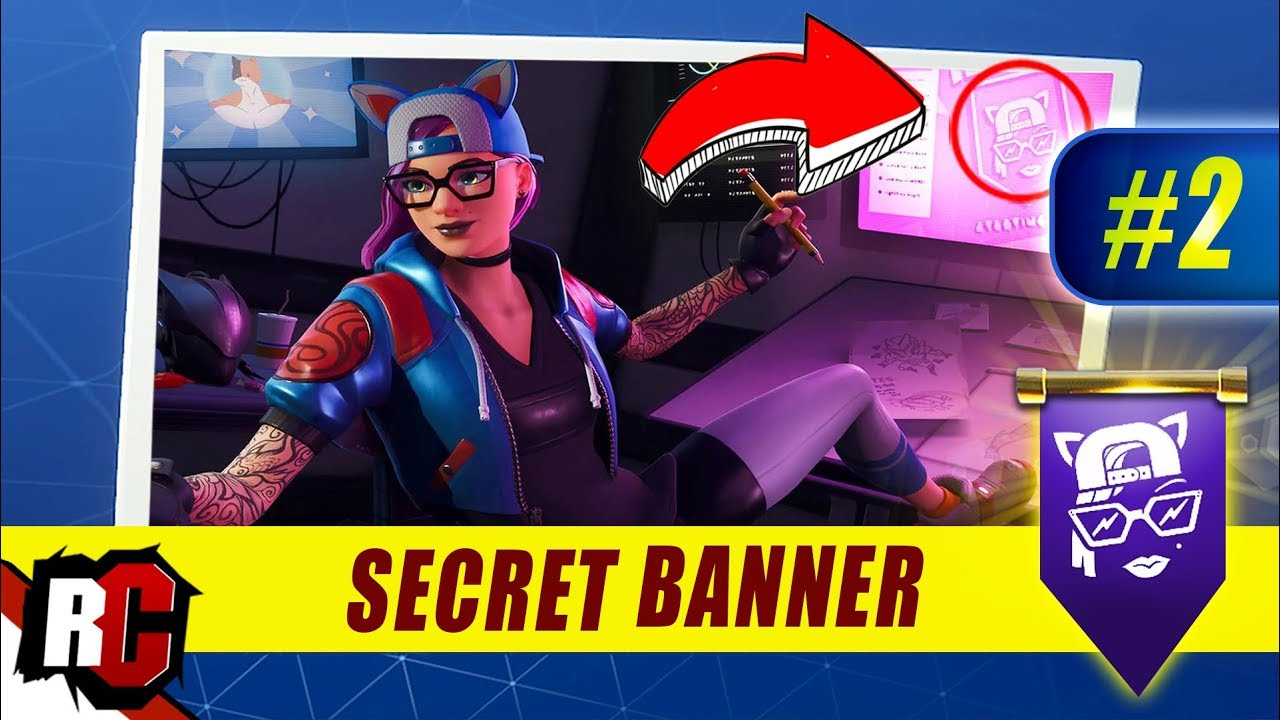 find the secret banner in loading screen #1