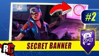 Fortnite | WEEK 2 Secret Banner Location (Season 7 Week 2 Loading Screen / Snowfall Skin)