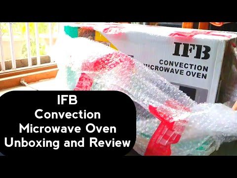 IFB 20 L Convection Microwave Oven (20SC2 Metallic Silver) Unboxing, Review and Demo