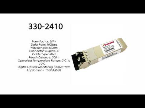 Compatible 330-2410 SFP 10GBase-SR 300m for Dell Networking C1048P