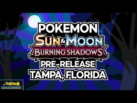 DOUBLE Pokemon Burning Shadows Prerelease!   Tampa, Florida