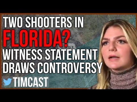 Two Shooters in Florida? Witness Statement Draws Controversy