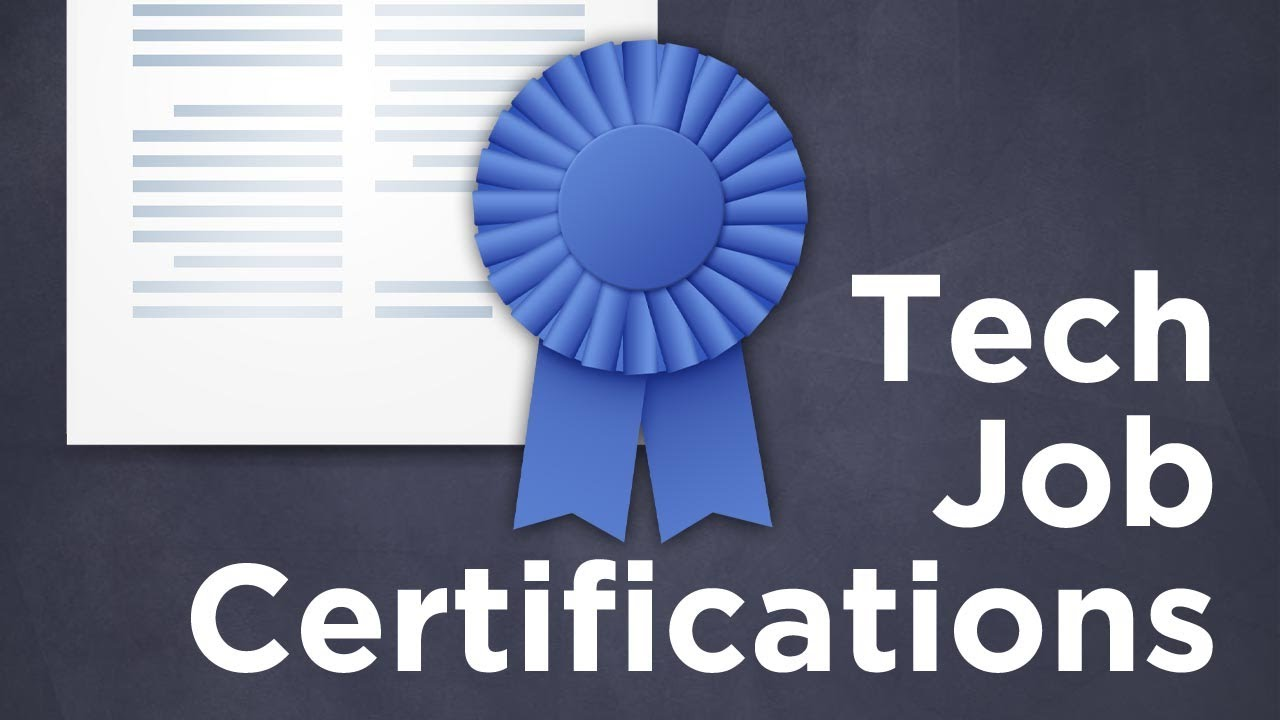 Best Tech Certifications To Help You Land A Job Tekzilla Youtube