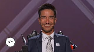 Jimmy V Award recipient Rob Mendez: 'Who says I can't go further?' | 2019 ESPYS