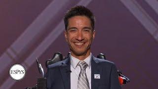 Jimmy V Award Recipient Rob Mendez: 'who Says I Can't Go Further?' | 2019 Espys