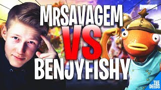 NRG MrSavageM 1 VS 1 Benjyfishy | Fortnite Creative *EPIC 1v1 BUILD BATTLES*