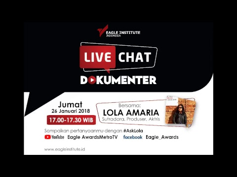 Live Chat Dokumenter Eagle Institute Indonesia