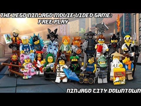The LEGO Ninjago Movie Video Game - Ninjago City Downtown Free Play
