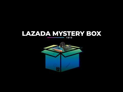 Unboxing Mystery Box Lazada 12 12