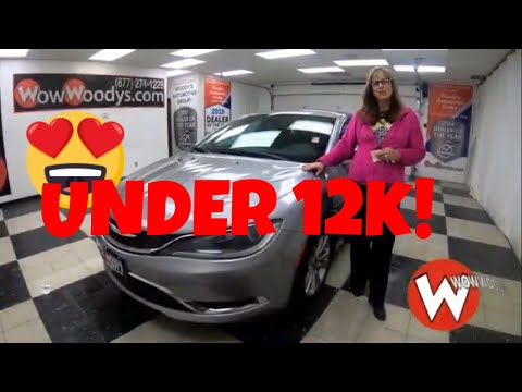 2015 Chrysler 200 Limited 15HN23 Review | Video Walkaround | Used Cars for sale at Wowwoodys