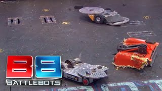 BattleBots Season 2 Exhibition Rumble: Rotator v The Disk O Inferno v Splatter