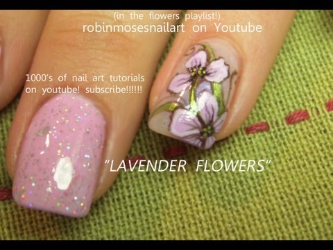 2 nail art tutorials easy nail art for beginners lavender iris 2 nail art tutorials easy nail art for beginners lavender iris flower nails prinsesfo Image collections